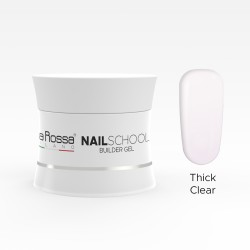 Gel Lila Rossa NailSchool 30 g Thick Clear