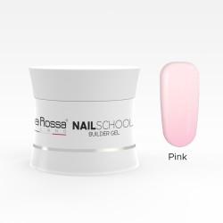 Gel de constructie Lila Rossa NailSchool 15 g Pink