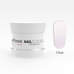 Gel de constructie Lila Rossa NailSchool 30 g soak off 3in1 Clear