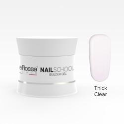 Gel de constructie Lila Rossa NailSchool 15 g Thick Clear