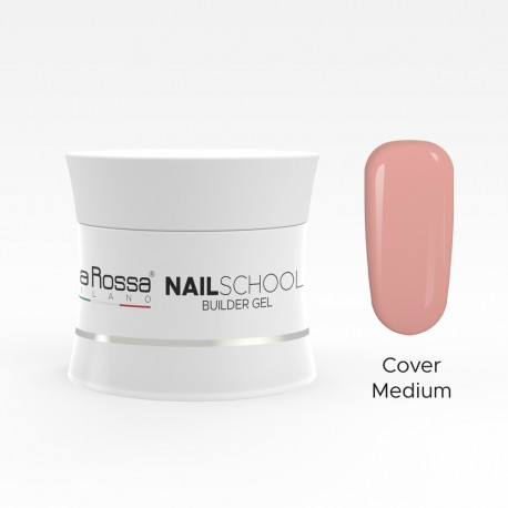 Gel de constructie Lila Rossa NailSchool 15 g Cover Medium