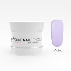 Gel de constructie Lila Rossa NailSchool 15 g Violet