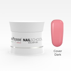 Gel de constructie Lila Rossa NailSchool 15 g Cover Dark