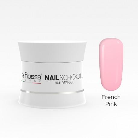 Gel de constructie Lila Rossa NailSchool 15 g French Pink