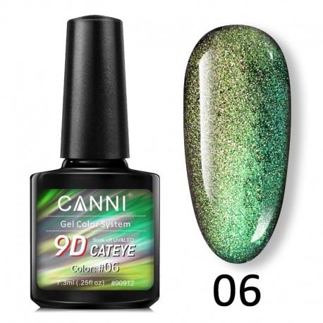 Oja Semipermanenta Canni Cat Eye 9D - 06
