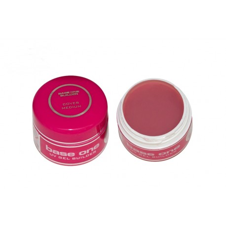 Base One UV Gel Cover Medium 15 ml