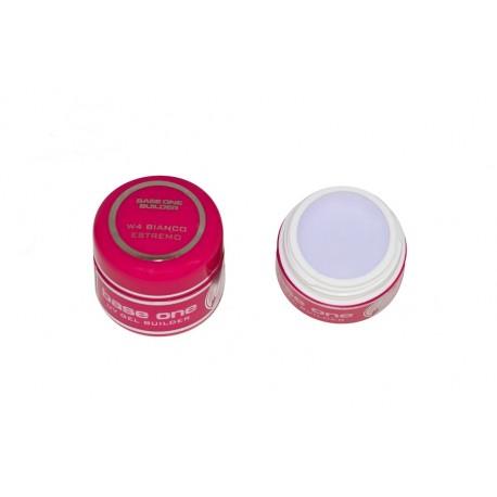 Base One UV Gel Alb Bianco Estremo 15 ml