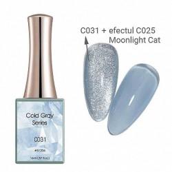 Oja semipermanenta Canni, Cold Gray, 16 ml, c031