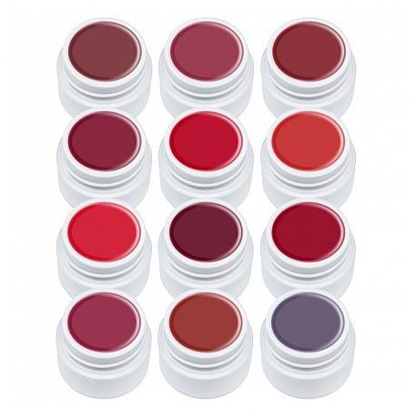 Set gel color Lilac, Red Series, 12 geluri