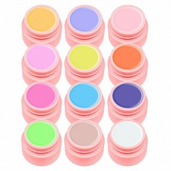 Set gel color Canni, Youth Series, 12 geluri