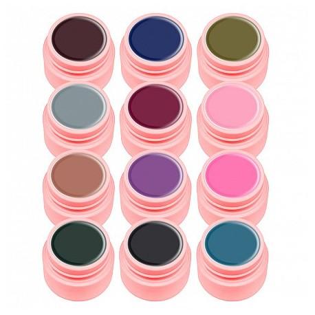 Set gel color Canni, Elegant Series, 12 buc geluri