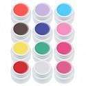 Set gel color Gdcoco, Pure Series, 12 geluri