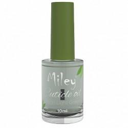 Ulei cuticule cu pensula, Miley, aroma Melon Light Green, 10 ml