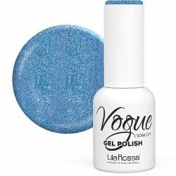 Oja Semipermanenta Lila Rossa, Vogue Mermaid Sand, nuanta 910, Blue, 10 ml