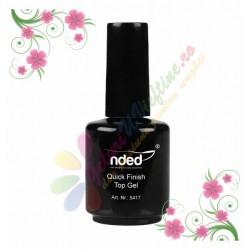Top Coat UV Quick Finish Top Gel pentru luciu NDED