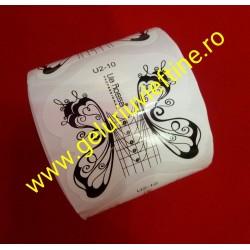 Sabloane Lila Rossa U2 -10 - 50 Buc