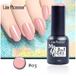 Oja Lila Rossa Magic 3 in 1 Gel Polish Nr. 03
