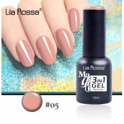 Oja Lila Rossa Magic 3 in 1 Gel Polish Nr. 05