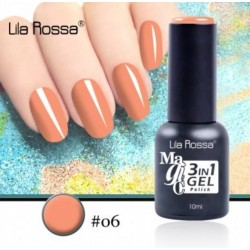 Oja Lila Rossa Magic 3 in 1 Gel Polish Nr. 06