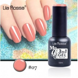 Oja Lila Rossa Magic 3 in 1 Gel Polish Nr. 07