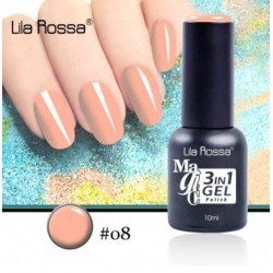 Oja Lila Rossa Magic 3 in 1 Gel Polish Nr. 08