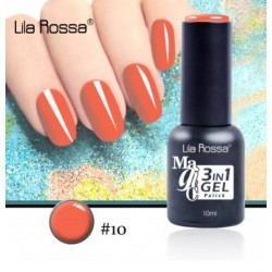 Oja Lila Rossa Magic 3 in 1 Gel Polish Nr. 10
