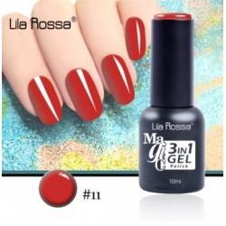 Oja Lila Rossa Magic 3 in 1 Gel Polish Nr. 11