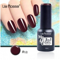 Oja Lila Rossa Magic 3 in 1 Gel Polish Nr. 12