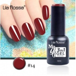 Oja Lila Rossa Magic 3 in 1 Gel Polish Nr. 14