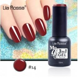 Oja Lila Rossa Magic 3 in 1 Gel Polish Nr. 14