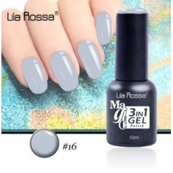 Oja Lila Rossa Magic 3 in 1 Gel Polish Nr. 16