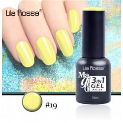 Oja Lila Rossa Magic 3 in 1 Gel Polish Nr. 19
