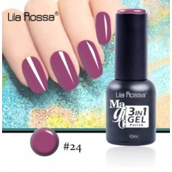 Oja Lila Rossa Magic 3 in 1 Gel Polish Nr. 24