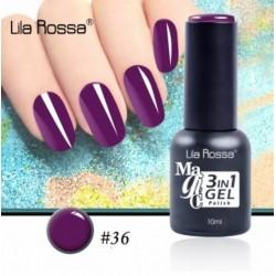 Oja Lila Rossa Magic 3 in 1 Gel Polish Nr. 36