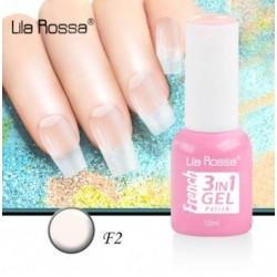 Oja Lila Rossa French 3 in 1 Gel Polish Nr. F2