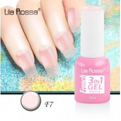 Oja Lila Rossa French 3 in 1 Gel Polish Nr. F7