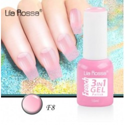 Oja Lila Rossa French 3 in 1 Gel Polish Nr. F8