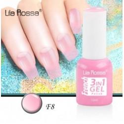 Oja Lila Rossa French 3 in 1 Gel Polish Nr. F8