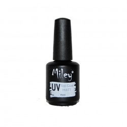 Top Coat  Gel  MATT Miley UV- 15ml