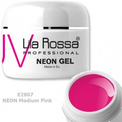 Gel Colorat Lila Rossa Neon 5g  - E2807 Medium Pink