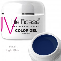 Gel Colorat Lila Rossa Neon 5g  - E2001 Night Blue