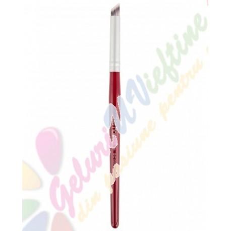 Pensula Lila Rossa Oblica Pentru Decor Nr.4
