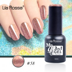 Oja Lila Rossa Magic 3 in 1 Gel Polish Nr. 58
