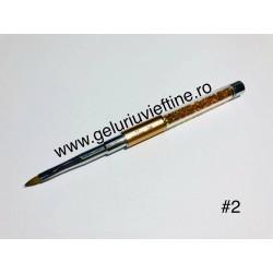 Pensula diamant pentru acril nr.2