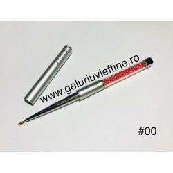 Pensula Diamant cu capac pentru pictura nr.00