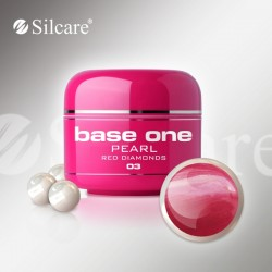 Base One Pearl Red Diamonds 03 -5g