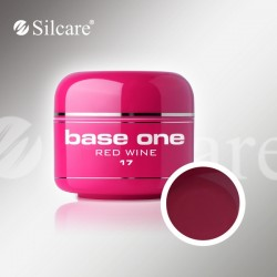 Base One UV Gel Colorat Glass Red Wine 17  -5 g