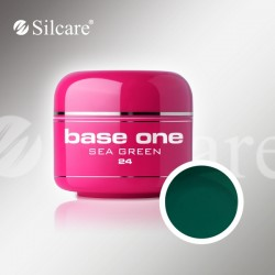 Base One UV Gel Colorat Glass Sea Green 24  -5 g