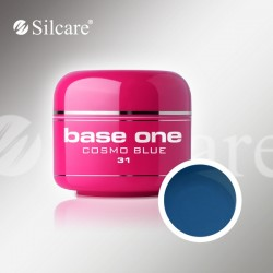Base One UV Gel Colorat Glass Cosmo Blue 31  -5 g