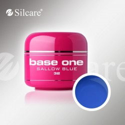 Base One UV Gel Colorat Glass Sallow Blue 32  -5 g